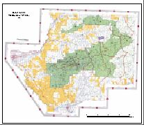 Grand Mesa Forest Service Trail Map